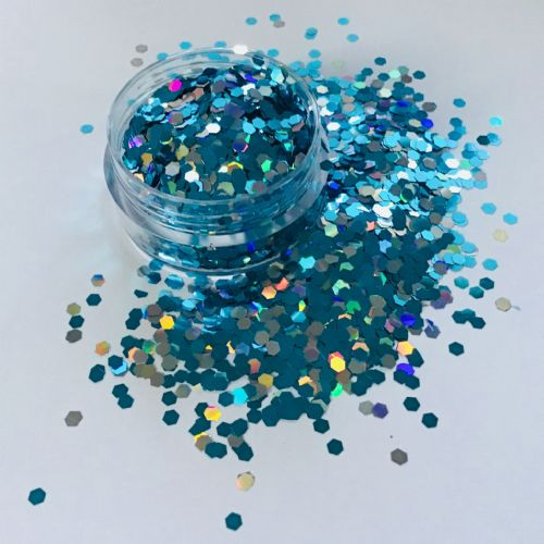 BLUE MOON 2mm GLITTER  POT - 10g